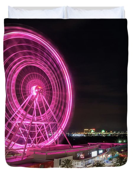 Orlando Eye Duvet Cover