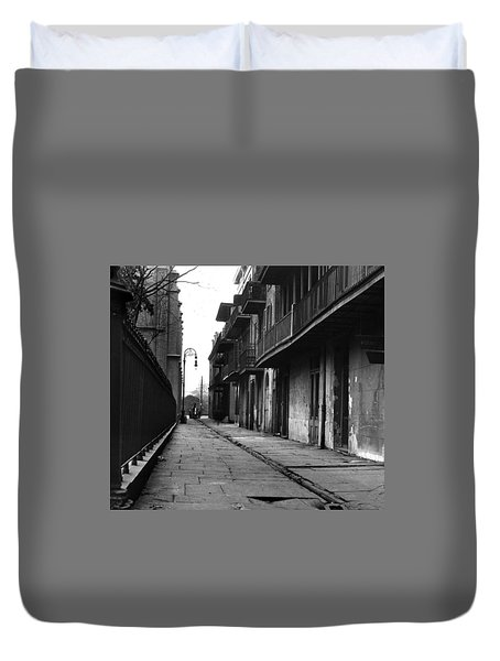 Orleans Alley Duvet Cover