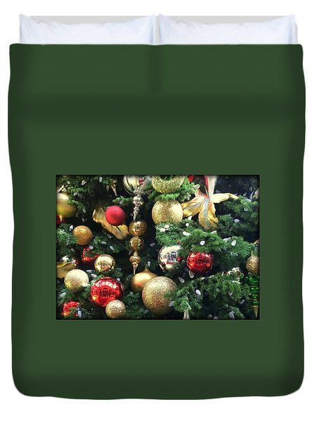 Ornaments Duvet Cover