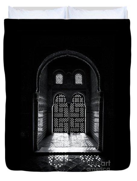 Ornate Alhambra Window Duvet Cover