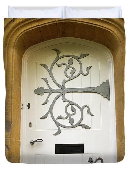 Ornate Door 1 Duvet Cover by Douglas Barnett