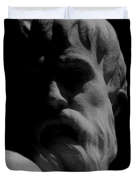Orpheus Looks Back Duvet Cover by RC DeWinter