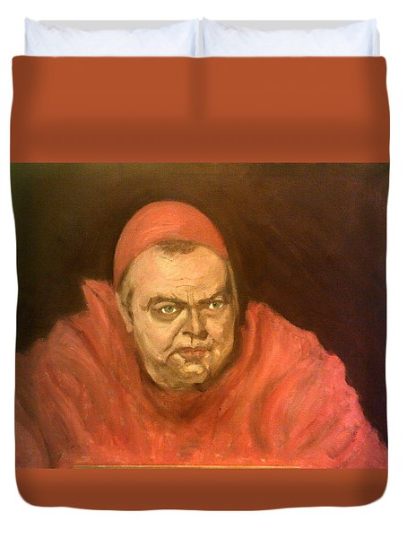 Orson Welles As Cardinal Wolsey Duvet Cover