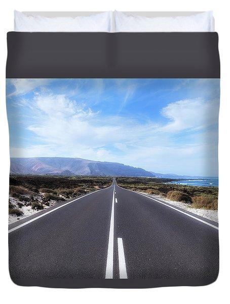Orzola - Lanzarote Duvet Cover