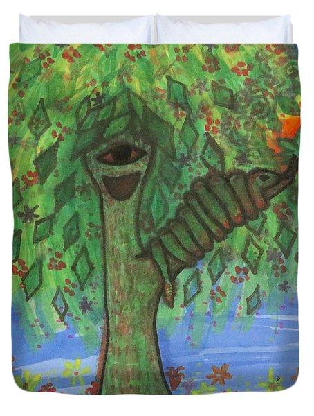 Osain Tree Duvet Cover