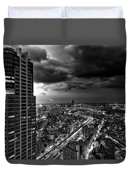 Osaka Duvet Cover by Hayato Matsumoto