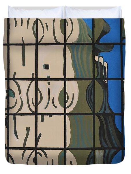 Osborn Reflections Duvet Cover