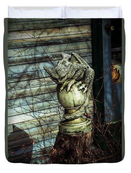 Oscar Duvet Cover by Alana Thrower