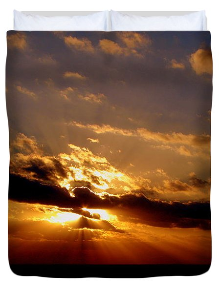 Osculate Duvet Cover by Priscilla Richardson