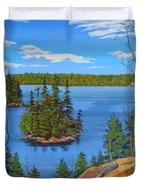 Osprey Island Duvet Cover
