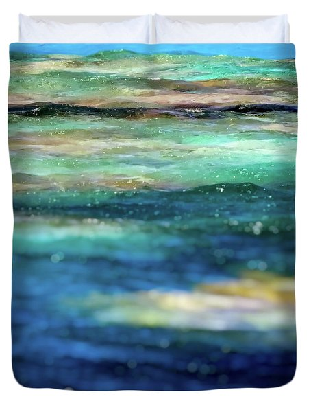 Osprey Reef Duvet Cover by Doug Sturgess