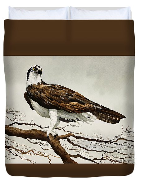 Osprey Sea Hawk Duvet Cover by James Williamson