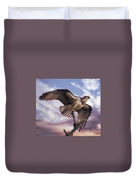 Osprey Wing Duvet Cover