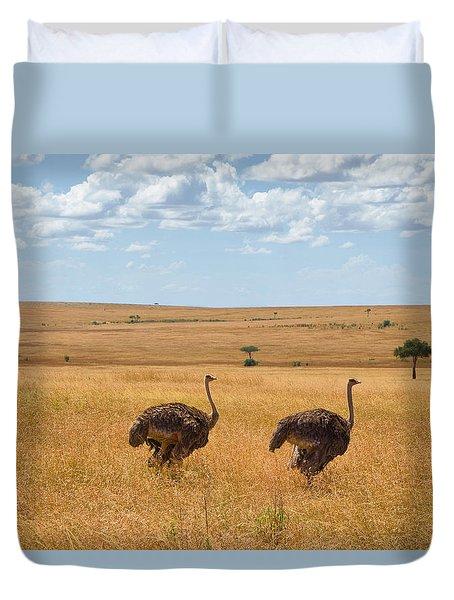 Ostrich Duvet Cover