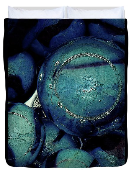 Other Worlds Iv Duvet Cover by Shelly Stallings