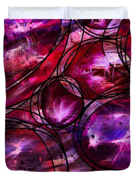 Other Worlds Duvet Cover by Rachel Christine Nowicki