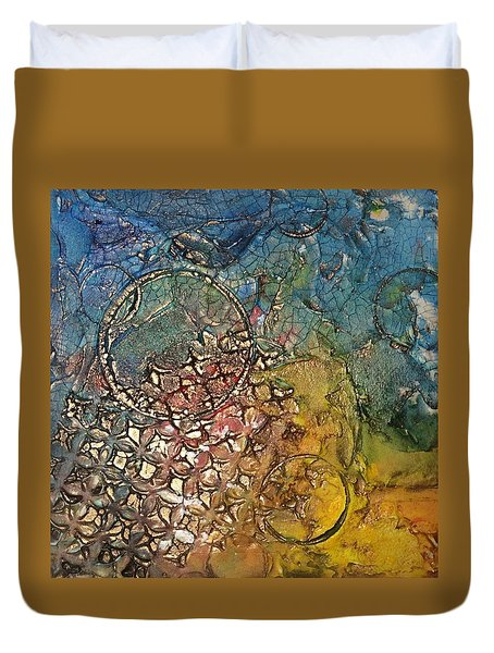 Other Worlds Duvet Cover