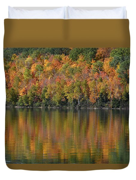 Ottawa National Forest Duvet Cover