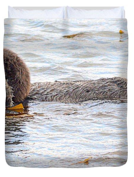 Otter Love Duvet Cover