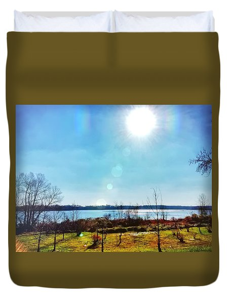 Otter Point Creek Duvet Cover
