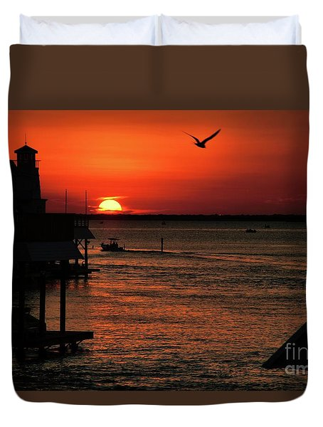 Oui Duvet Cover by Diana Mary Sharpton