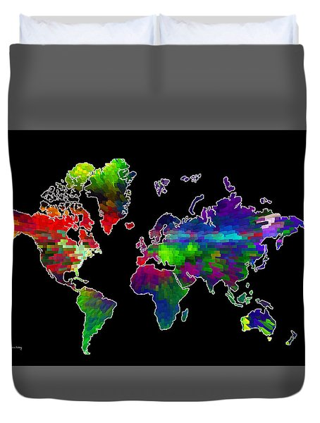 Our Colorful World Duvet Cover