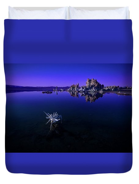 Our Desolate Earth Duvet Cover