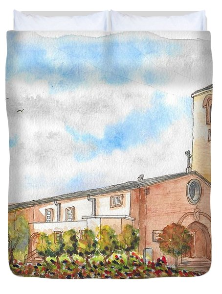 Our Lady Of Assumption Catholic Church, Claremont, California Duvet Cover