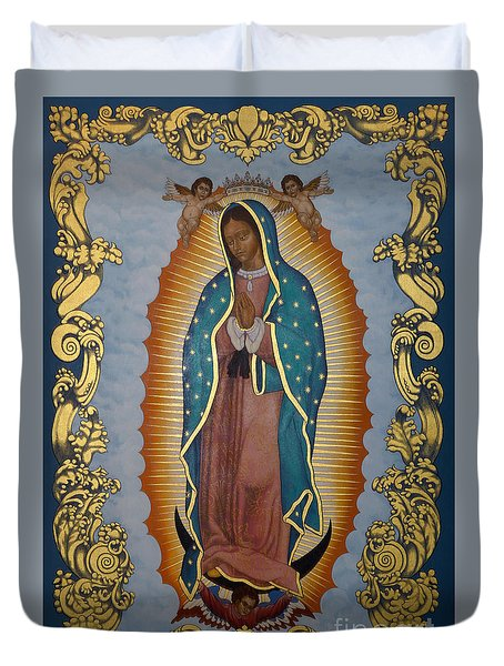 Our Lady Of Guadalupe - Lwlgl Duvet Cover
