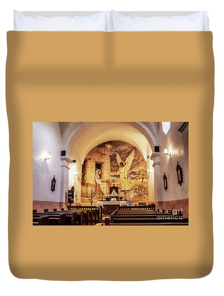 Our Lady Of Loreto Chapel Duvet Cover