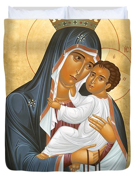 Our Lady Of Mount Carmel - Rlolc Duvet Cover
