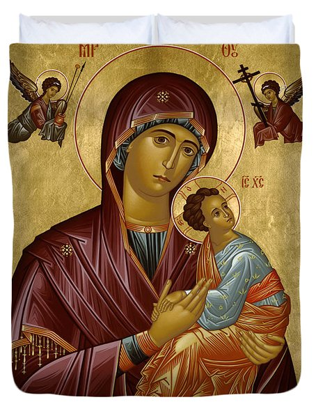 Our Lady Of Perpetual Help - Rloph Duvet Cover