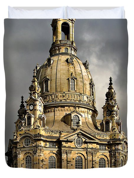 Our Lady's Church Of Dresden Duvet Cover