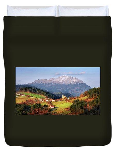 Our Little Switzerland Duvet Cover
