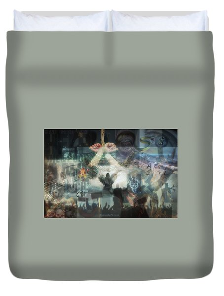 Our Monetary System  Duvet Cover
