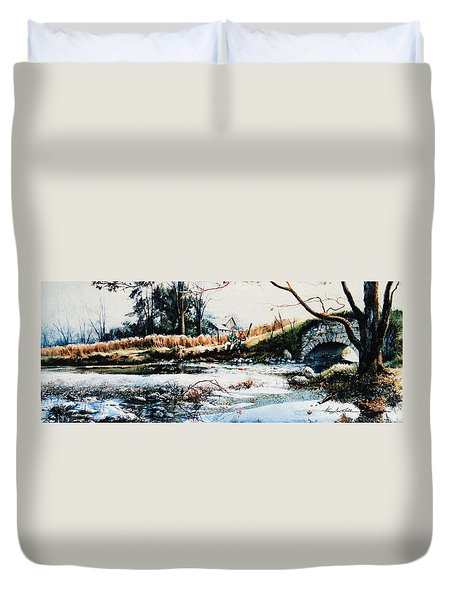 Our Special Place Duvet Cover by Hanne Lore Koehler