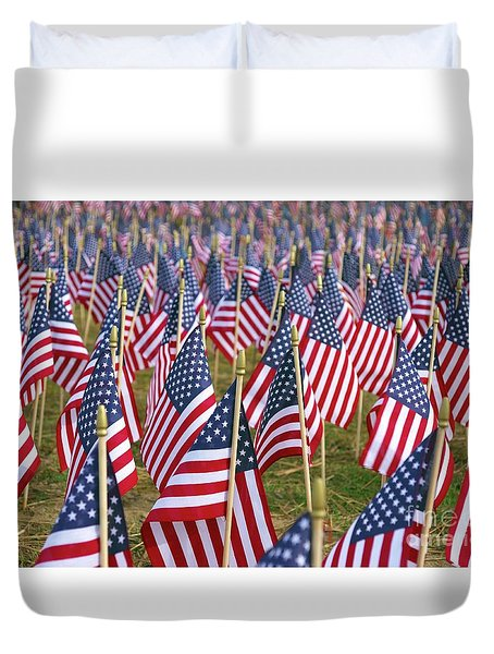 Our Unforgotten Freedom Duvet Cover