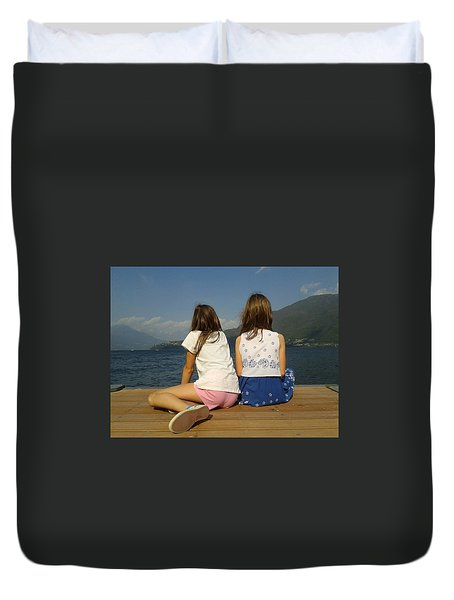 Our Wonderful Maty And Francy Duvet Cover