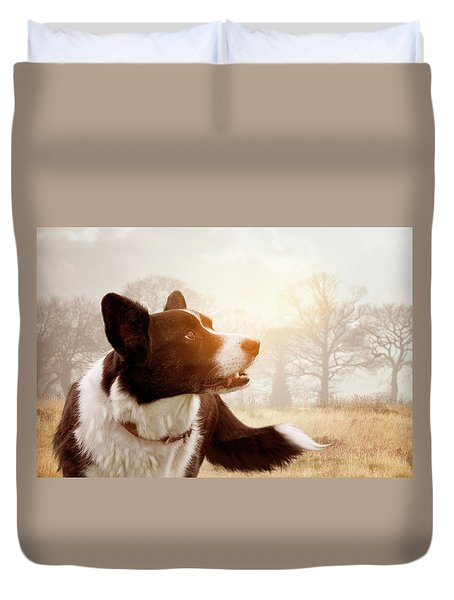 Out And About Duvet Cover