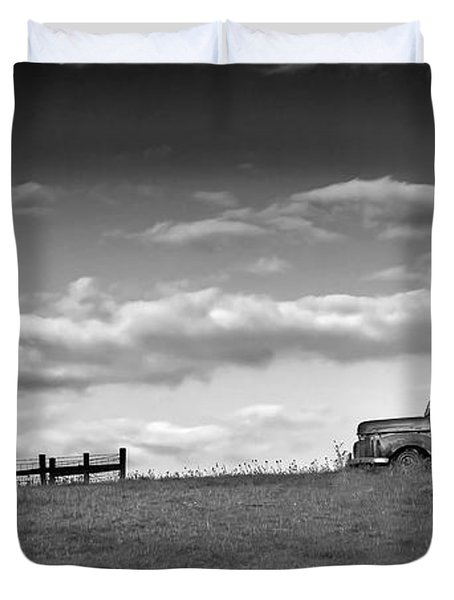 Out For Delivery In Floyd Virginia Duvet Cover