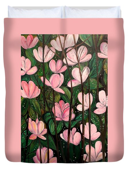 Out In Open Duvet Cover by Lisa Aerts