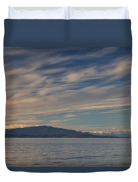 Out Like A Lamb Duvet Cover by Randy Hall