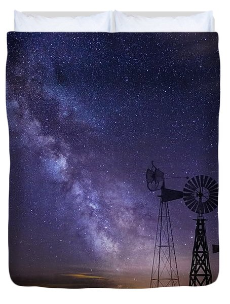Our Milky Way  Duvet Cover