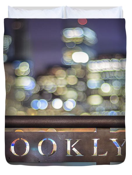 Out Of Brooklyn Duvet Cover