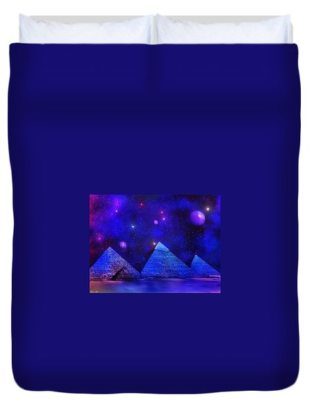 Out Of Eternity Duvet Cover