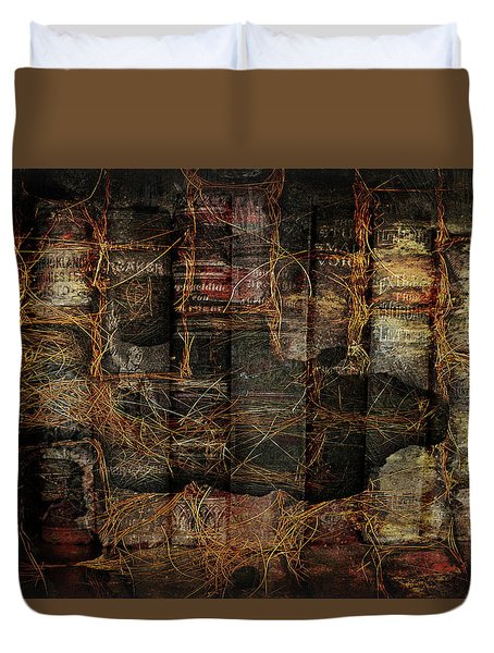 Out Of Print Duvet Cover