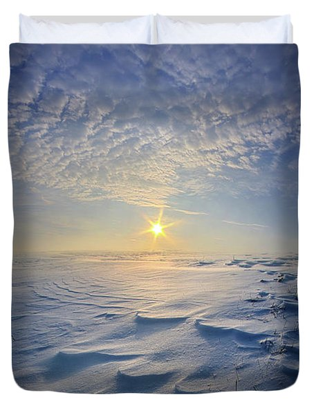 Duvet Cover featuring the photograph Out Of The East by Phil Koch