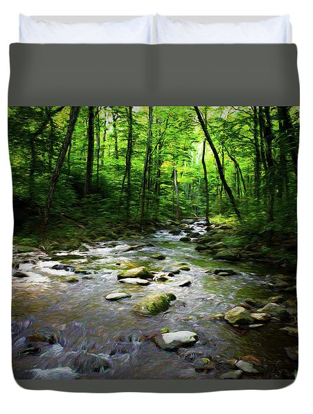 Out Of The Forest Duvet Cover
