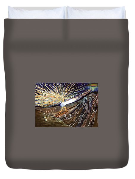 Out Of The Miry Clay 2 Duvet Cover