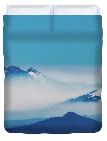 Out Of The Mists Duvet Cover